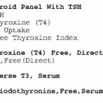 The Effect of a Ketogenic Diet on Thyroid Hormone
