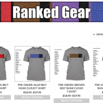 BJJ Rank Cloud T-Shirt